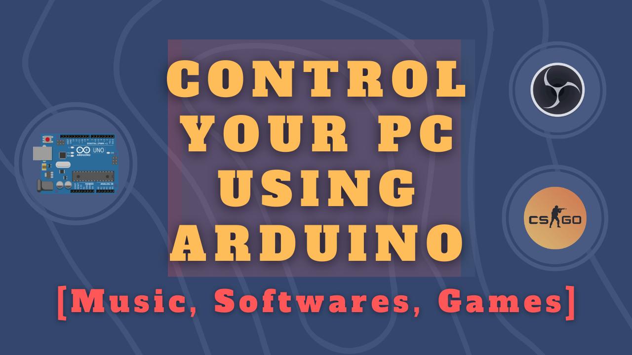 MacroKeyboardThumbnail - Macro Keyboard Using Arduino to control PC/Mac Softwares & Games | DIY stream deck | AutoHotKey